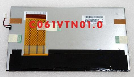 AUO 6.1 inch TFT LCD Screen C061VTN01.0 800*480
