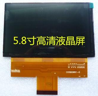 5.8 inch HD Projector Screen C058GWW1-0 1280*768
