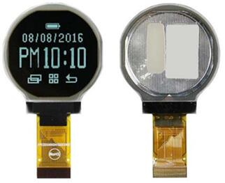 1.18 inch 24P Round OLED Screen SSD1327 128*128