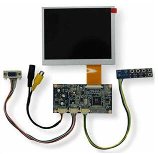VGA Video Drive Board+5.6 inch TFT LCD Screen