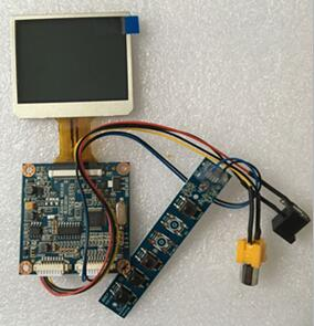 CVBS Drive Board+2.4 inch TFT LCD Screen 480*234