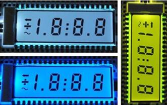 16P TN Positive 3-1/2 Digits Segment LCD Backlight