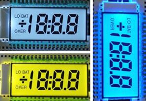 40PIN TN Positive 3-1/2 Digits Segment LCD Backlight