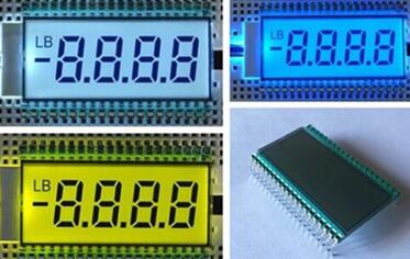 40PIN TN Positive 4-Digits Segment LCD Backlight
