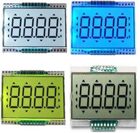 16PIN TN Positive 4-Digits Segment LCD Backlight