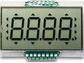 16P TN Positive 4-Digits Segment LCD No Backlight