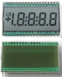 40PIN TN 4-1/2 Digits Segment LCD No Backlight