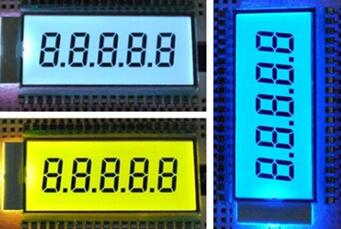 40PIN TN 5-Digits Segment LCD Panel Backlight