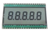 40P TN 5-Digits Segment LCD Panel No Backlight