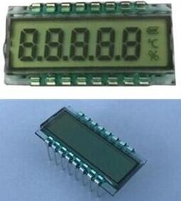 16P HTN 5-Digits Segment LCD Panel No Backlight