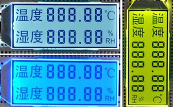24P HTN Double 5-Digits Segment LCD Backlight