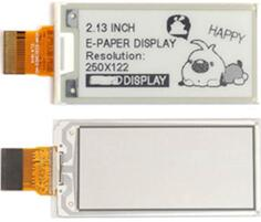 2.13 inch 24P SPI Black White Ink Screen E-Paper