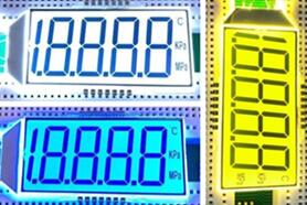 14PIN 4-1/2 Digits Segment LCD Panel Backlight