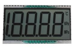 14PIN 4-1/2 Digits Segment LCD Panel No Backlight