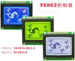 20PIN 12864 LCD Graphic KS0107 KS0108 RA6963
