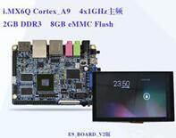 Freescale I.MX6Q E9 Mini-PC Cortex-A9 Quad Board V2+5