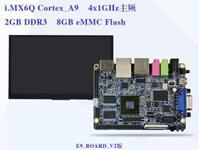 Freescale I.MX6Q E9 Mini-PC Cortex-A9 Quad Board V2+7