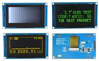 2.7 inch 7PIN SPI OLED Module SSD1325 128*64