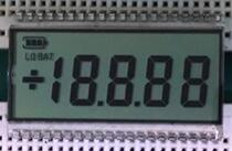 40P HTN Positive 4-1/2 Digits Temperature Segment LCD
